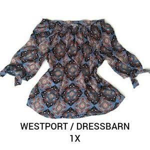 Westport dressbarn blouse size 1X